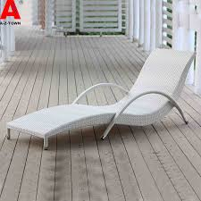 Beach Lounge Chairs Use Outdoor Beach Lounge Chairs Rattan Lying Bed Siesta Wholesale
