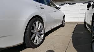 lexus gs350 mrr wheels ca ca bay area mrr hr10 staggered with michelin pss clublexus