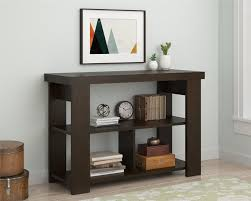 Ameriwood Bedroom Furniture by Ameriwood Furniture Hollow Core Sofa Table Black Forest Finish