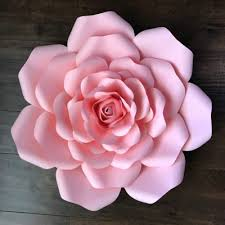 flower template cut out flower template tissue paper flower