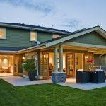 Patio Covers Seattle Gable Patio Cover Deck Craftsman With Indoor Outdoor Living