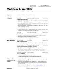 exle of simple resume contoh resume computer science pic nov 2016 basic skills