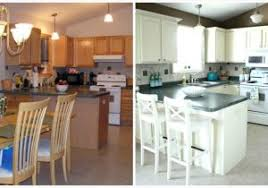 paint kitchen cabinets white painted white kitchen cabinets before and after modern looks diy