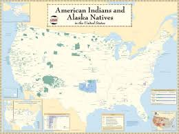 map usa indian reservations indian reservation national geographic society
