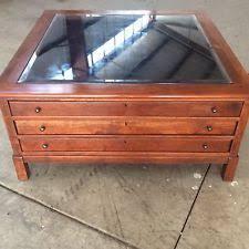 bob timberlake glass top coffee table bob timberlake solid cherry collectors coffee table made usa