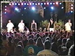 2000 new years 98 degrees o town on clarks new years rockin 2000