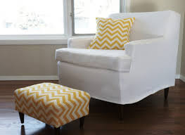 DIY Idea Make An Easy Tailored Slipcover For Any Piece Of - Slipcovers for living room chairs