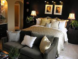 masculine bedroom design idea with white master bed plus