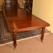 Mahogany Boardroom Table Vintage 14ft Victorian D End Dining Conference Table Victorian