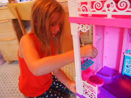 barbie dream house with elevator coloring coloring pages