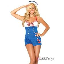 high seas honey pinup halloween costume