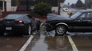 corvette car crash corvette stingray crash 1 images 2014 corvette stingray