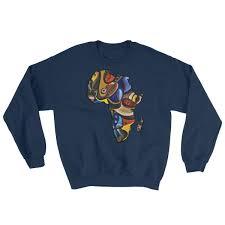 dashiki sweater unisex ankara dashiki map sweatshirt chimzi fashion