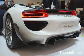 porsche supercar 918 porsche 918 spyder the new era of supercars has arrived
