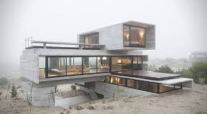 concrete block houses modern golf retreats concrete block home