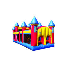 inflatable 30 u0027 backyard obstacle course 2