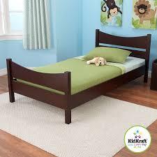 espresso twin bed amazon com kidkraft addison twin bed espresso toys games
