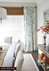 How To Make Curtains Longer Roman Shades To Make Window Look Taller Honey We U0027re Home