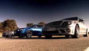 bmw vs audi race drag race bmw vs mercedes vs audi hq top gear series 10