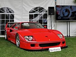 1993 ferrari 1993 ferrari f40 lm at bonhams auction mind over motor