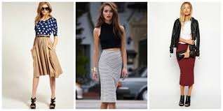 how to wear midi skirts this spring and summer season