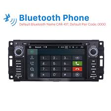 2005 jeep grand bluetooth din radio android 7 1 2005 2006 2007 2008 2011 jeep grand