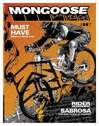 motocross mountain bike 2007 mongoose mtb catalog by mongoose bikes issuu