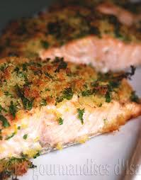 cuisiner du saumon au four saumon grillé en croûte gremolata