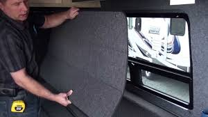 get away rv custom van window coverings youtube