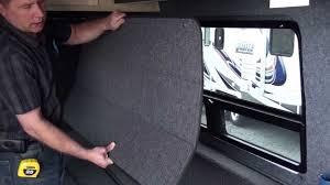 Camper Van Blinds Get Away Rv Custom Van Window Coverings Youtube