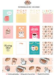 coffee planner stickers printable free printable coffee planner stickers free printables com