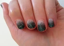 diy emerald nail art