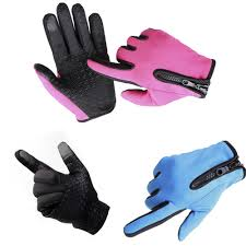 men touch screen fleece gloves warm winter gloves for iphone ipad