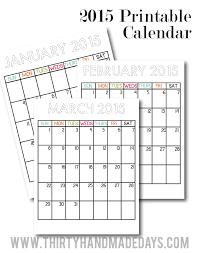 printable planner january 2015 updated printable calendars for 2015 printable calendars