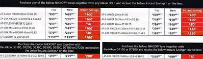 best black friday deals online 20q5 nikon 2015 black friday flyer leaked online nikon rumors