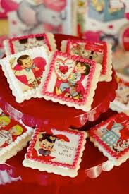 Valentine S Day Cookie Decorating Party by Vintage Valentine U0027s Cookie Decorating Party Kara U0027s Party Ideas