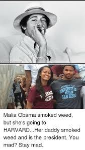 Obama You Mad Meme - roperti 2020 2020 san diego malia obama smoked weed but she s going