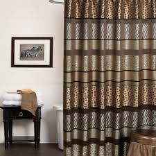 Themed Fabric Shower Curtains Animal Print Shower Curtains For Less Overstock Vibrant
