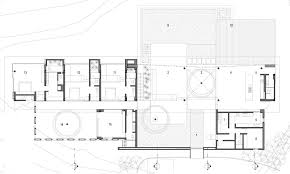 modern white concrete house design with open plan concept idea