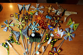 garden stake class with glass artist barb mckinlay dubuque365