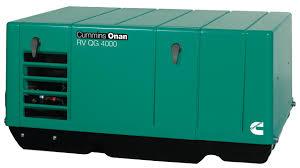 cummins onan rv qg 4000 watt generator gasoline rv 4kyfa26100
