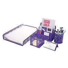 Pink Desk Accessories Set Purple Desk Accessories Accessory Set Voicesofimani