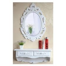 Shabby Chic Vanity Table Sz5cgjmy Wooden Vintage Shabby Chic Dressing Mirror Table