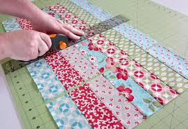 kitchen confections in moda s vintage modern patchwork placemats