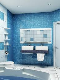 bathroom tile ideas blue and white modern wonderful stainless