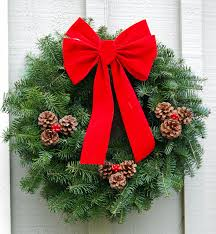 Outdoor Christmas Wreaths by Outdoor Christmas Decorations Decoholic For The Entrance Creative