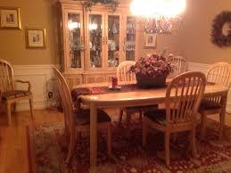 8 piece bernhardt dining room set and china hutch ellicott city