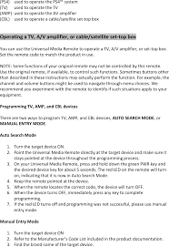 051038 universal media remote for ps4 user manual 07 06 15
