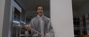 Christian Bale Axe Meme - things we want to see in the american psycho tv series