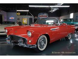 1956 ford thunderbird for sale on classiccars com 70 available